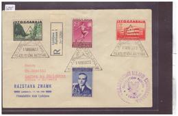 JUGOSLAVIJA - FDC No 358-361 - PREMIER JOUR - FIRST DAY COVER - AUSGABETAG - 1931-1941 Kingdom Of Yugoslavia
