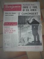 JOURNAL BENJAMIN 12 DECEMBRE 1954 N° 106 PAUL EMILE VICTOR - 1950 à Nos Jours
