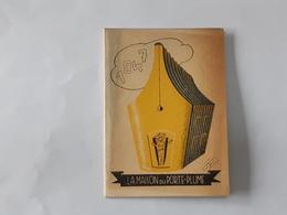 """Ancien Calendrier De 1947 Avec Publicité """" La Maison Du Porte-plume """" ... NA . - Calendriers"""