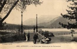 ANNECY   -   Le Pont Des Amours - Annecy