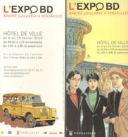 JUILLARD : Carte Annonce EXPO VERSAILLES - Juillard