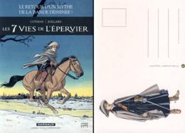 JUILLARD : Carte Postale 7 VIES DE L'EPERVIER - Juillard