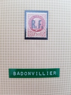 Timbre Libération Badonviller 1f50 Bersier Cote Mayer 70€ - Libération