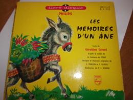 45 Tours Livres Disques Les Memoires D Un Ane - Niños