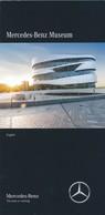 BRD Stuttgart Mercedes-Benz Museum Faltblatt 7 Seiten Englisch - KFZ