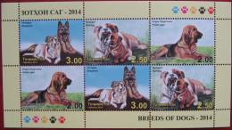 Tajikistan  2014  Dogs    M/S  MNH - Tajikistan