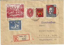DDR R-Brief Mit Ankunftsstempel - DDR