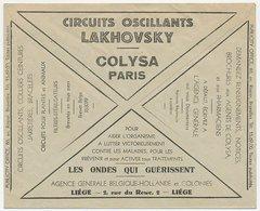 Postal Cheque Cover Belgium 1932 Drug - Medicines - Pharmacy