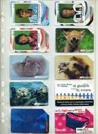 LOTTO TELECOM ITALIA TEMATICHE SPORT CALCIO ANIMALI BAMBINI ARTE OGGETTI CROCE ROSSA CAMMELLI - Pubbliche Tematiche