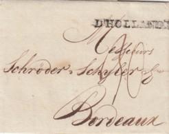 Nederland Cover 1797 D' Hollande - Niederlande