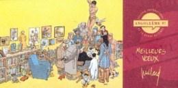JUILLARD : Carte Voeux Pour SALON ANGOULEME 97 - Juillard