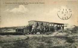 040119 - 33 Tramway De La Pointe Du CAP FERRET Et De L'océan - Chemin De Fer Plage Dune Tram - Otros Municipios