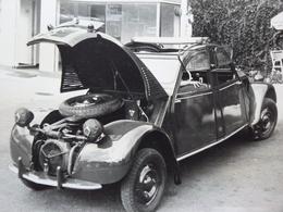 Rare!  Belle Photo Ancienne 2cv Citroën Bizarre !!! Voiture Ancienne 2 Cv - Automobiles