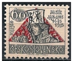 Cecoslovacchia/Czechoslovakia/Tchécoslovaquie: Jan Hus, Teologo, Theologian, Théologien - Teologi