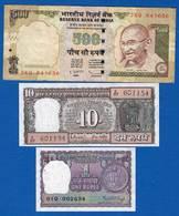 Inde  9  Billets - Inde