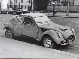 Rare!  Belle Photo Ancienne 2cv Citroën DF Dagonet Voiture Ancienne 2 Cv - Automobiles