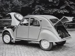 Rare!  Belle Photo Ancienne 2cv Citroën 4x4 Voiture Ancienne 2 Cv - Automobiles