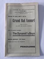 Ancien Programme De 1967 Avec Pub - Mont-sur-Marchienne , Gozée , Ham-sur-Heure , Gembloux , Etc ... NA . - Programma's
