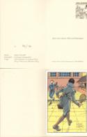 JUILLARD : Carte Vœux JOUEUR DE TENNIS Avec Pochette Pour LDC (serigraphié , Numerotée Signée) - Juillard