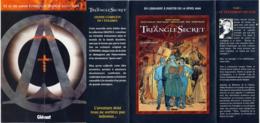 JUILLARD : Depliant Pour TRIANGLE SECRET 1 - Juillard