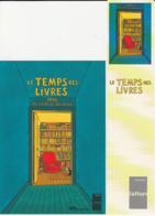 JUILLARD : Duo (carte + Marque Page) LE TEMPS DES LIVRES - Juillard