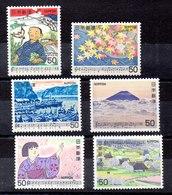 Series De Japón N ºYvert 1313/14-1316/17-1321/22 *** - 1926-89 Emperador Hirohito (Era Showa)