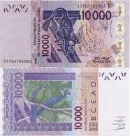 WEST AFRICAN STATES   T: Togo        10,000 Francs       P-818T[n]       2003 - (20)17       UNC  [ 10000 ] - États D'Afrique De L'Ouest