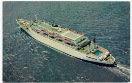 BARCHE - NAVI - S. S. ATLANTIC - AMERICAN EXPORT And ISBRANDTSEN LINES - 1964 - Vedi Retro - Commercio
