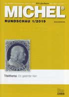 MICHEL Briefmarken Rundschau 1/2019 New 6€ Stamps Of The World Catalogue/magacine Of Germany ISBN 978-3-95402-600-5 - Tedesco