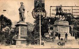 57 -  METZ - Monument De Frédéric Charles (Avant) - Monument De Lafayette (Après) - Metz