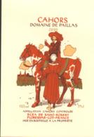 JUILLARD : Etiquette Pour DOMAINE PAILLAS 1993 (serigraphié) - Juillard