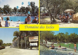 *CPM  - 13 - LA ROQUE D'ANTHERON - Domaine Des Iscles - Camping - Multivues - Autres Communes