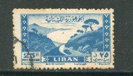 LIBAN- Poste Aérienne Y&T N°23- Oblitéré - Liban
