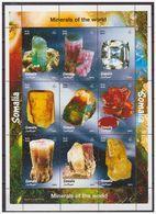 0756 Somalia 1999 Mineralen Minerals S/S MNH - Mineralen