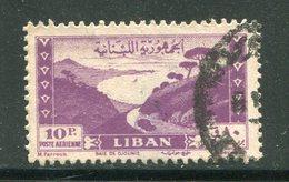 LIBAN- Poste Aérienne Y&T N°20- Oblitéré - Liban