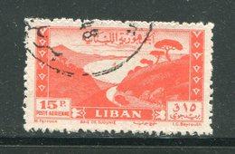 LIBAN- Poste Aérienne Y&T N°21- Oblitéré - Liban