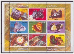 0757 Somalia 2000 Mineralen Minerals S/S MNH - Mineralen