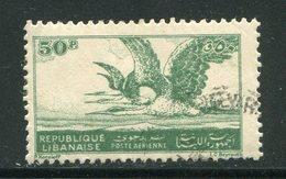 LIBAN- Poste Aérienne Y&T N°9- Oblitéré - Liban