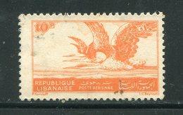 LIBAN- Poste Aérienne Y&T N°7- Oblitéré - Liban