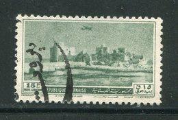 LIBAN- Poste Aérienne Y&T N°62- Oblitéré - Liban