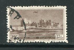 LIBAN- Poste Aérienne Y&T N°61- Oblitéré - Liban