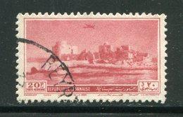 LIBAN- Poste Aérienne Y&T N°63- Oblitéré - Liban