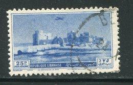 LIBAN- Poste Aérienne Y&T N°64- Oblitéré - Liban