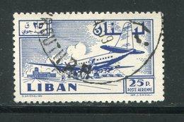 LIBAN- Poste Aérienne Y&T N°165- Oblitéré - Liban