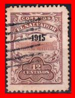 EL SALVADOR AÑO 1915 - 10 CENTAVOS - El Salvador