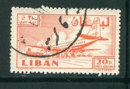 LIBAN- Poste Aérienne Y&T N°164- Oblitéré - Liban