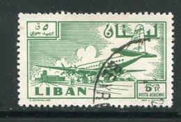 LIBAN- Poste Aérienne Y&T N°161- Oblitéré - Liban
