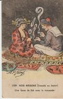 CPA - NOS MARINS - ESCALE AU JAPON - UNE TASSE DE THÉ AVEC LA MOUSMEE - 1509 - A. P. JARRY - Autres Illustrateurs