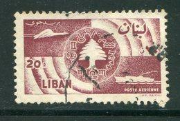 LIBAN- Poste Aérienne Y&T N°155- Oblitéré - Liban