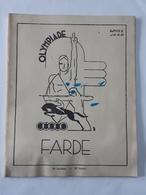 Ancien Cahier - Farde Olympiade Avec Table De Multiplication ... NA . - Livres, BD, Revues